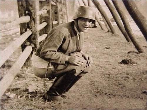 soldato che defeca